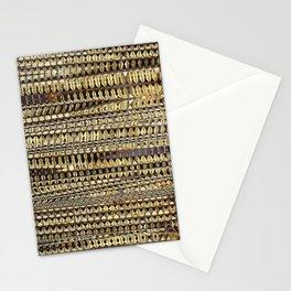 Gold Glitch Stationery Cards