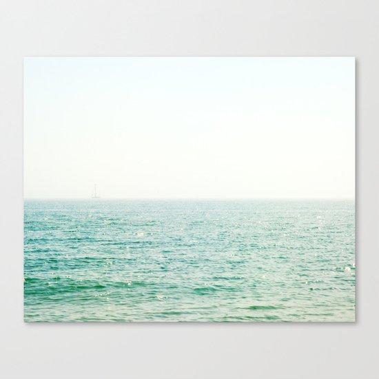 Ocean Ghost Ship Canvas Print