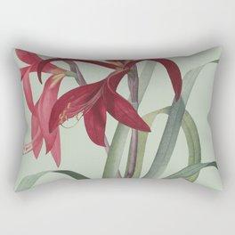 Victoria's Garden, feat. Amaryllis Formosissima, Magazine Cover Rectangular Pillow