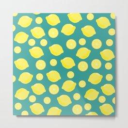 Make your Lemonade :) Metal Print