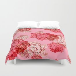 hydrangea (doubled) Duvet Cover