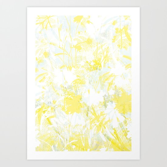 Blooming Flowers Art Print
