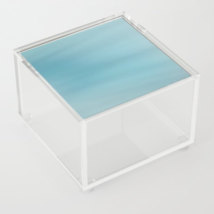 Blue Burst Acrylic Box
