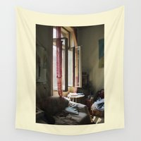 budapest Wall Tapestries featuring Gypsy life in Budapest by Clara Blum