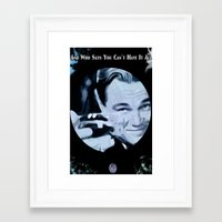 the great gatsby Framed Art Prints featuring Great Gatsby by Instrum