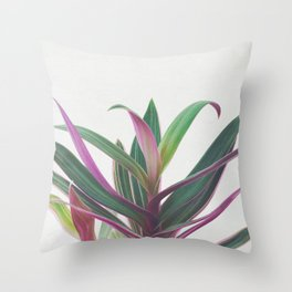 Boat Lily II Throw Pillow
