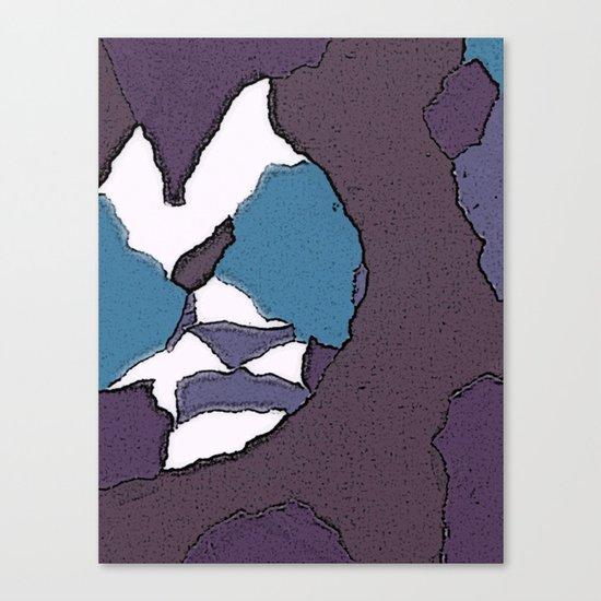 Man face Canvas Print