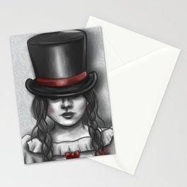 Victorian Girl Stationery Cards