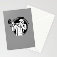 Blood, Toil, Tears, and Sweat Stationery Cards