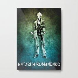 MGS Natasha Romanenko Metal Print