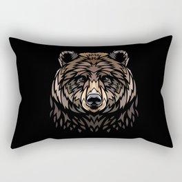 Tribal Bear Rectangular Pillow