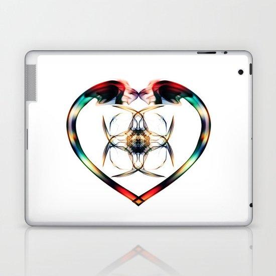 Smoke HeART 3 Laptop & iPad Skin