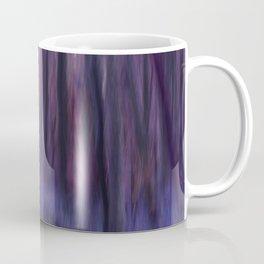 Painted Trees 2 Purples Coffee Mug