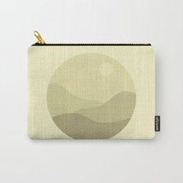 Minimal Meadow Day Carry-All Pouch