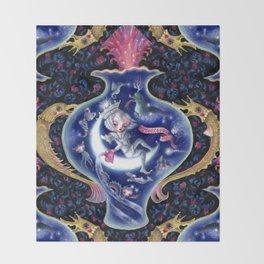 The Aquarius Throw Blanket