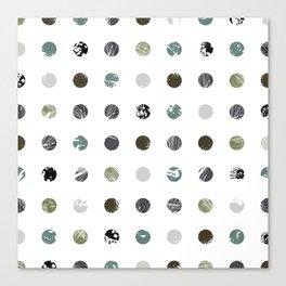 Graphic_Dots Canvas Print