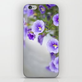 Violets in a Milk Churn iPhone Skin