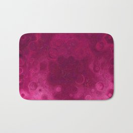 Rosy Puddle in the Rain Bath Mat