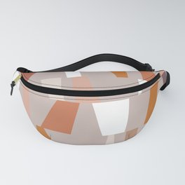 Neutral Geometric 03 Fanny Pack