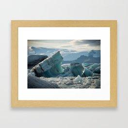 Jokulsarlon 3 Framed Art Print