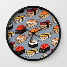 Sushi Labrador Retriever Wall Clock