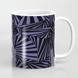 Radiant Tribe in Royal Purple and Black Coffee Mug