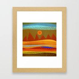 Textures/Abstract 143 o.c. Framed Art Print