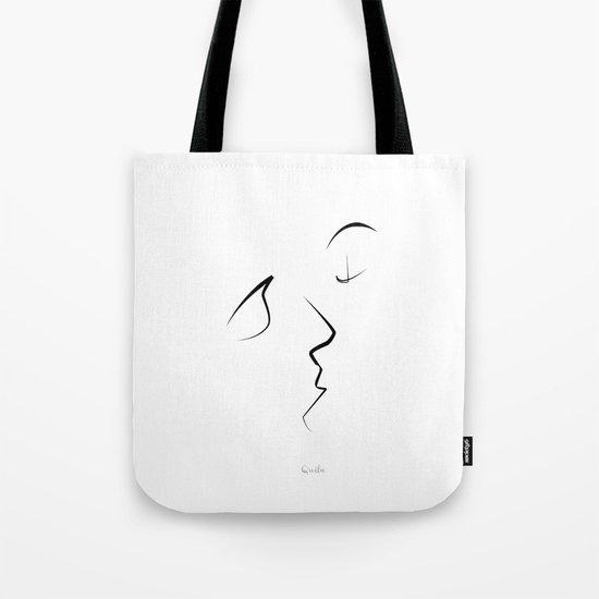 Kiss/beso/kuss/baiser/beijo/ Tote Bag