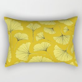 YELLOW AUTUMN GINKGO Rectangular Pillow