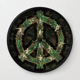 Peace Keepers Wall Clock