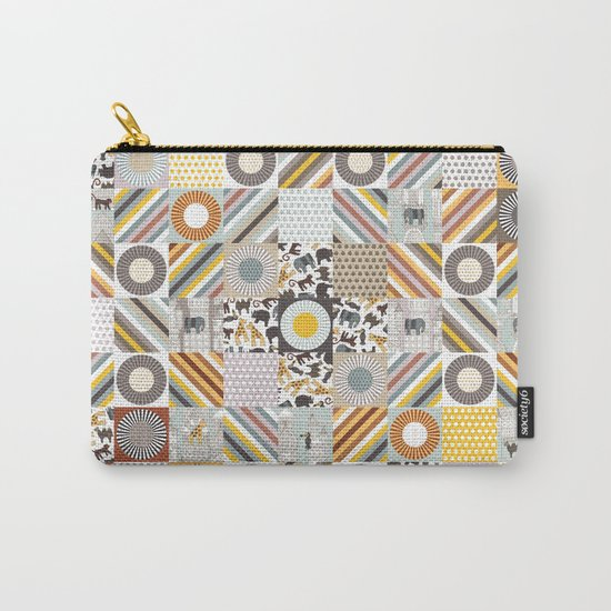 urban jungle squares Carry-All Pouch