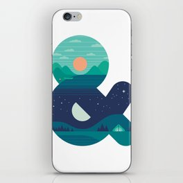 Day & Night iPhone Skin