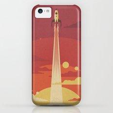 Atomic Sky iPhone 5c Slim Case
