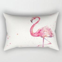 A Flamingos Fancy Rectangular Pillow