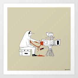 Filmmakers Valentine Art Print