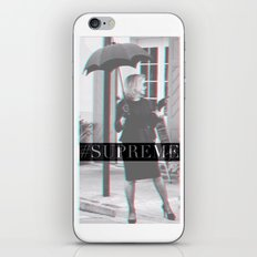 Jessica Lange Fiona Goode Supreme iPhone & iPod Skin