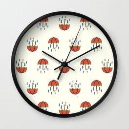 It Will Follow The Rain Wall Clock