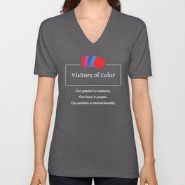 Visitors of Color Unisex V-Neck