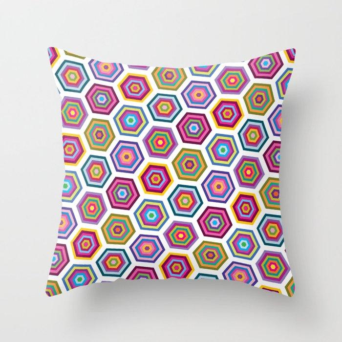 Hive No. 2 Throw Pillow