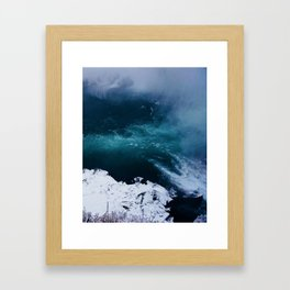 The Settling of Niagara Falls Framed Art Print