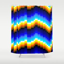 Wavelength A Shower Curtain