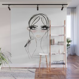 Morning Make Up Wall Mural