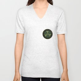 Instinctive Archers - Official patch (small version) Unisex V-Neck