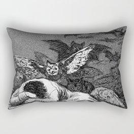 THE SLEEP OF REASON PRODUCERS MONSTERS - FRANCISCO GOYA Rectangular Pillow