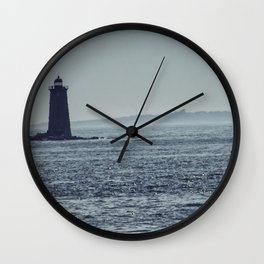 Whaleback Light Wall Clock