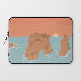 Raouche Rocks, Beirut, Lebanon Laptop Sleeve