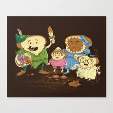 Yep, just a little bit of fairy peanut butter Canvas Print