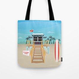 Surf Shack Tote Bag