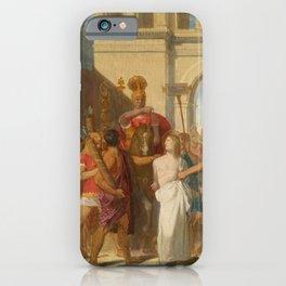 "Jean-Auguste-Dominique Ingres ""The Martyrdom of Saint Symphorian"" iPhone Case"
