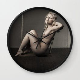 Mariah 3 Wall Clock